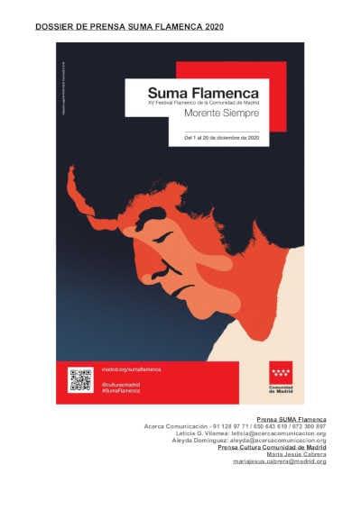Toda la Música | Ha sido presentada la XV edición del Festival Suma Flamenca, evocando el mundo sonoro de Enrique Morente