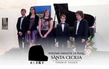 Una veintena de jóvenes pianistas participan en la semifinal del 24 Premio Infantil de Piano Santa Cecilia-Premio Hazen