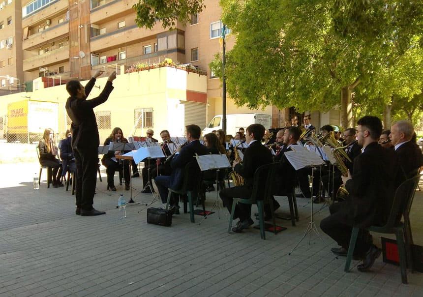 Toda la Música | La Societat Musical Orriols ofrece el último concierto de música de banda del ciclo Cultura als barris