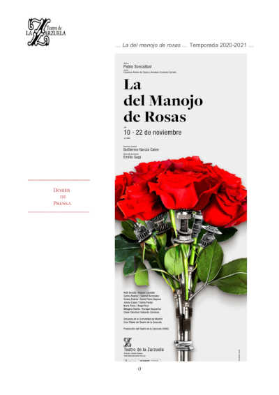 Toda la Música | El Teatro de la Zarzuela celebra los 30 años de su montaje más emblemático y aplaudido: 'La del manojo de rosas'