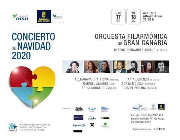 Toda la Música | Los jóvenes talentos canarios protagonizan el Concierto Benéfico de Navidad de la Orquesta Filarmónica de Gran Canaria