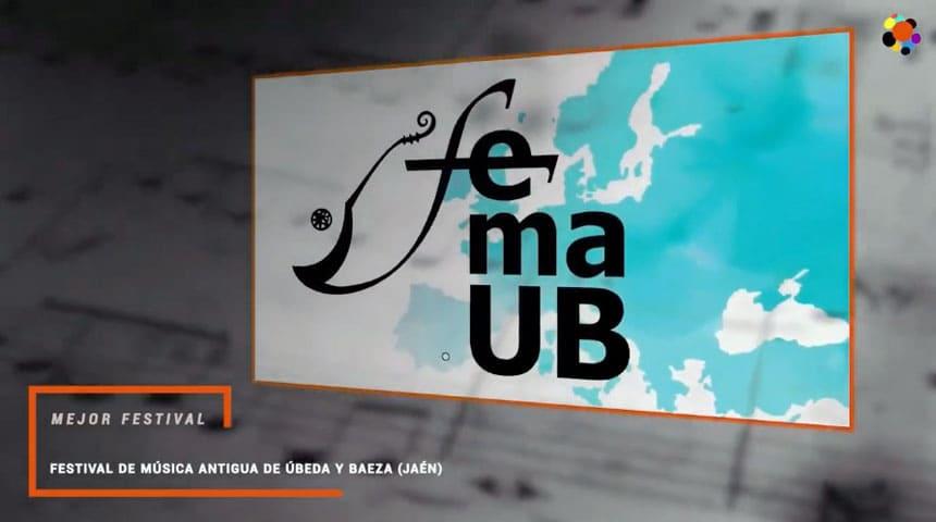 Toda la Música | El Festival de Música Antigua de Úbeda y Baeza gana el Premio GEMA al Mejor Festival del Año