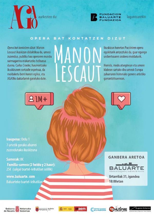 Toda la Música | La Asociación Gayarre Amigos de la Ópera presenta Te cuento una ópera: Mano Lescaut