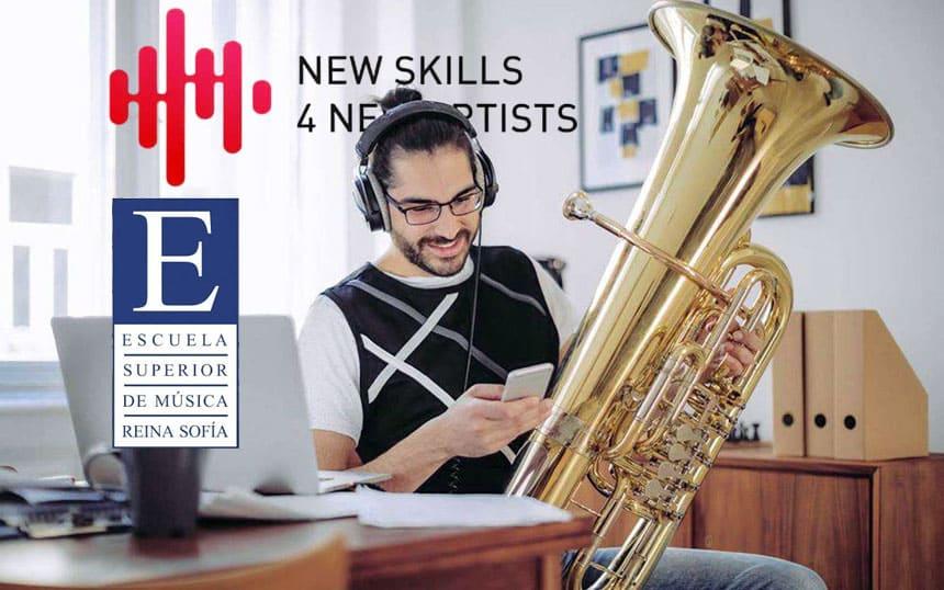 Toda la Música   La Escuela Superior de Música Reina Sofía presenta la primera edición de New Skills 4 New Artists