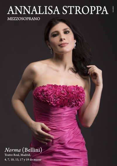 Toda la Música | Annalisa Stroppa será Adalgisa, de Norma, en el Teatro Real de Madrid
