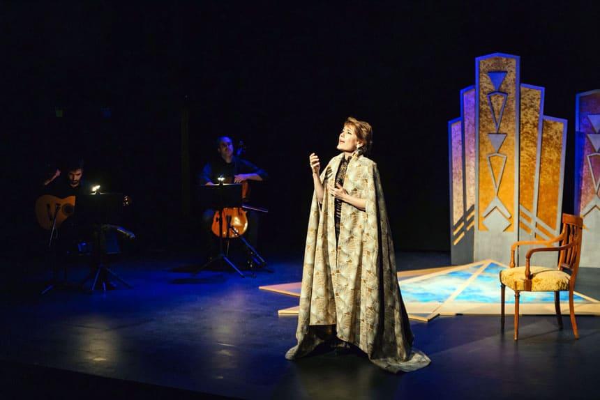 Toda la Música   María Bayo presenta el espectáculo Divina Cleopatra en el Teatre Poliorama
