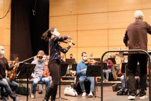 La Sinfónica de Galicia se reencuentra con su público virtual en su primera emisión en directo en calidad HD