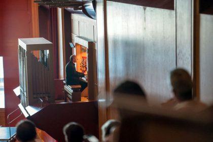 Toda la Música | El órgano del Auditorio Alfredo Kraus vibra con la música de Bach y Brahms de la mano de Jürgen Essl