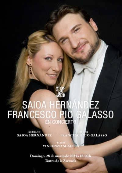 Toda la Música | Saioa Hernández y Francesco Pio Galasso ofrecen un concierto que ensalza la grandeza única de nuestro patrimonio lírico