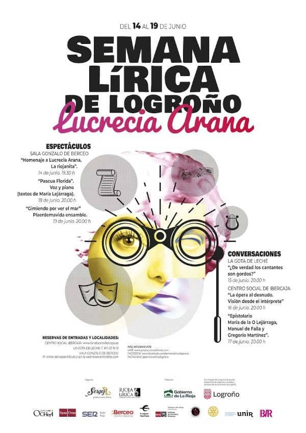 Toda la Música | Se celebrará la I Semana Lírica de Logroño Lucrecia Arana