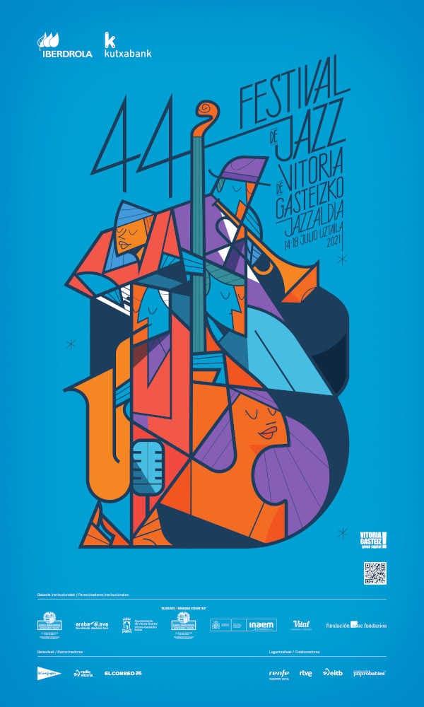 Toda la Música | Músicos internacionales y nacionales para la recuperada 44 edición del Festival de Jazz de Vitoria Gasteiz