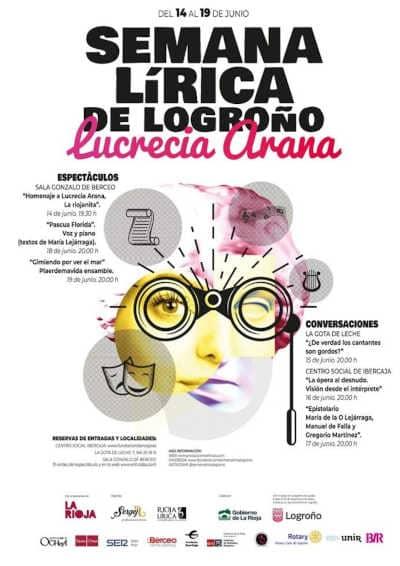 Toda la Música | Comienza la Primera Semana Lírica de Logroño, Lucreia Arana