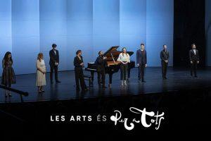 Los artistas del Centre de Perfeccionament de Les Arts clausuran el curso académico con la gala 'Noves Veus'