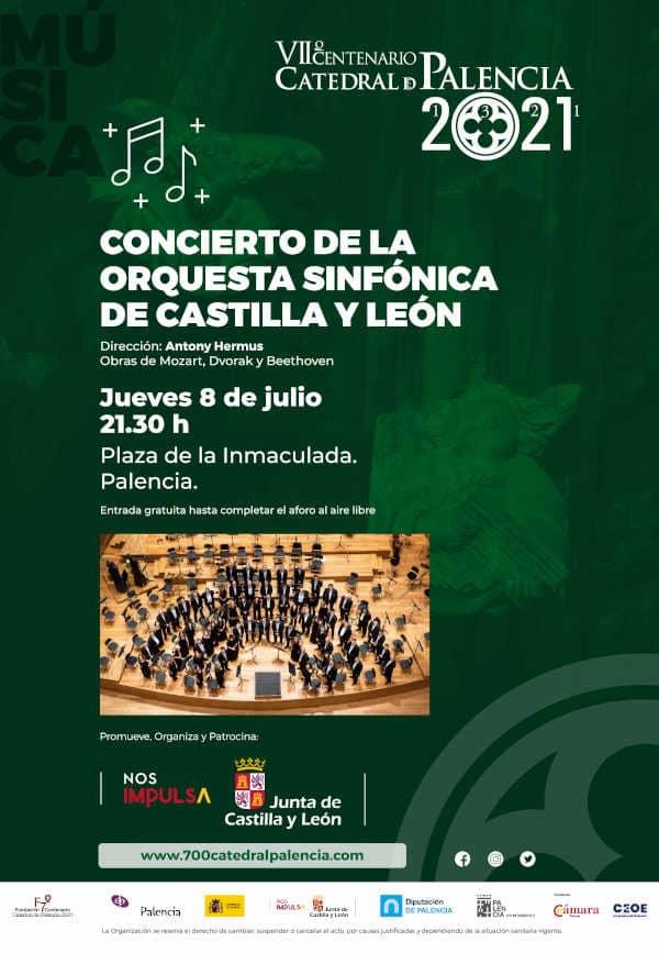 Toda la Música | La Orquesta Sinfónica de Castilla y León se suma a las celebraciones del VII Centenario de la Catedral de Palencia