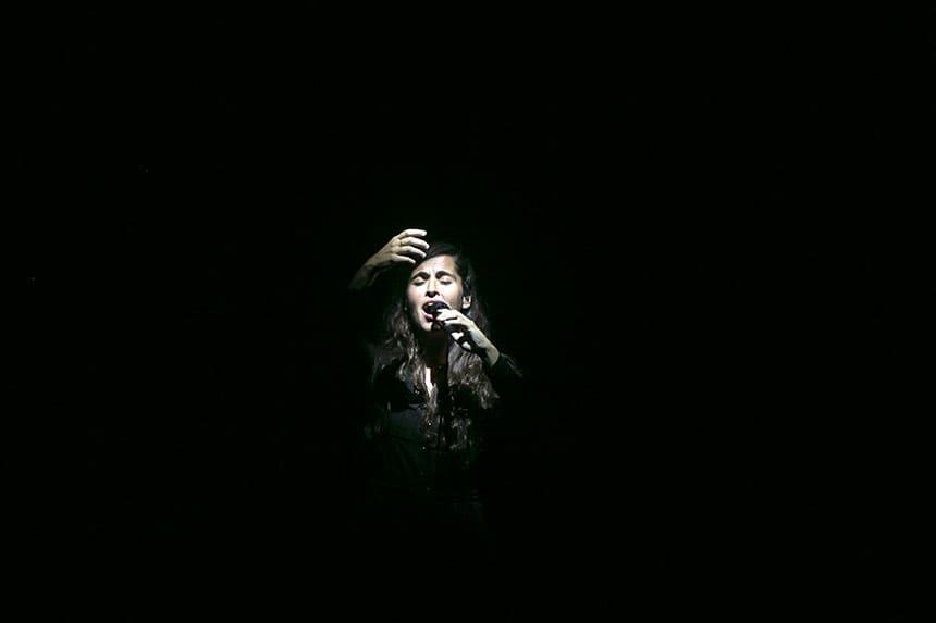 Toda la Música   La lluvia obliga a suspender el concierto de Silvia Pérez Cruz en el Festival Castell de Peralada